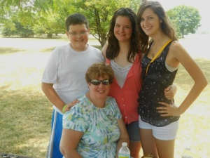 Sarah Mittler and her family.