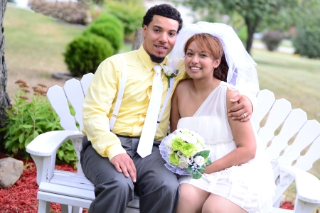 Yessenia and her husband Cory