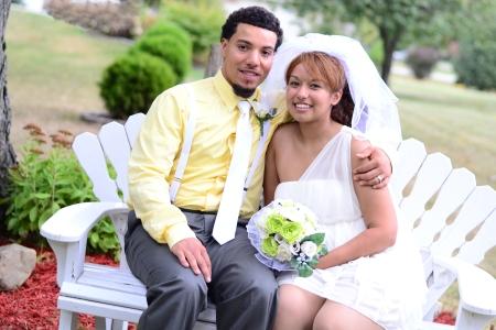 Yessenia and her husband Cory