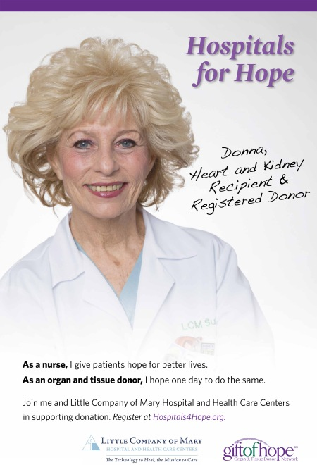 Donna Ramusack -- an advocate for the Hospitals for Hope campaign.